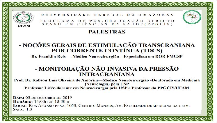 Convite para Palestras - PPGCIS